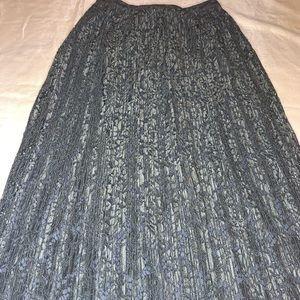Banana Republic Skirts - Lace & Pleated  Maxi Skirt